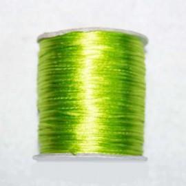 Cola de ratón verde fluor 1mm x 5 metros