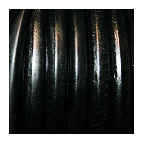 Cuero regaliz negro oferta x metro