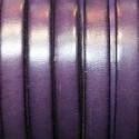 Cuero plano natural violeta 10mm