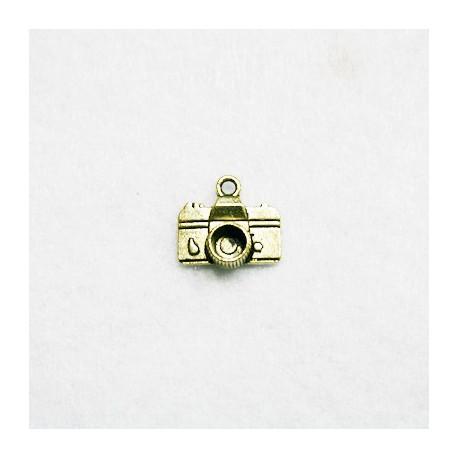 Camara fotos dorada (metal)