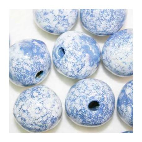 Ceramica Azul y Blanca