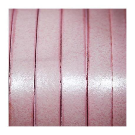 Cuero sintético plano 10mm rosa