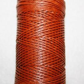 Cordón hilo encerado negro 1 mm X 5 METROS excelente acabado y brillo