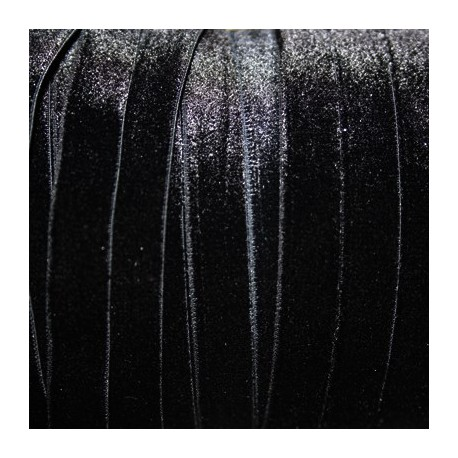 Terciopelo ELASTICO negro