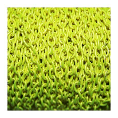 Cadena de color fluor amarillo