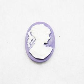 Camafeo Mujer Violeta