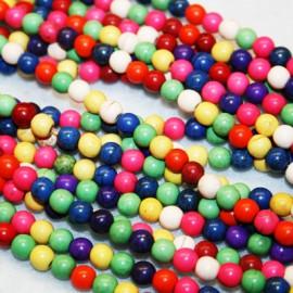 Hawalite de colores de 8 mm