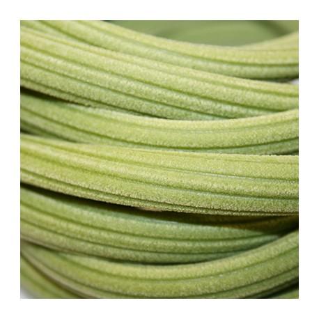 Caucho regaliz rayado verde