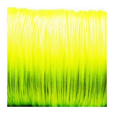 Hilo macramé amarillo fluor