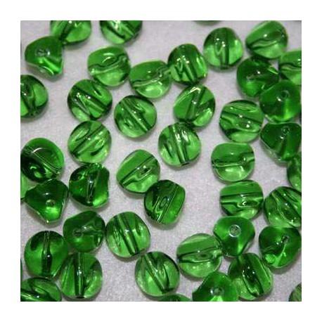Cristal barroca verde