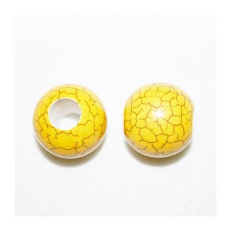 Bolon imitación Hawalite amarillo