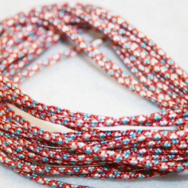 Paracord rojo 2mm