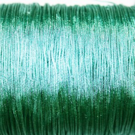 Hilo macramé verde vintage