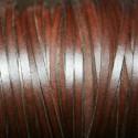 Cuero sintético plano 3mm marrón