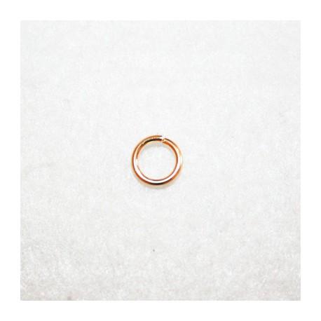 Anilla baño dorado 8mm