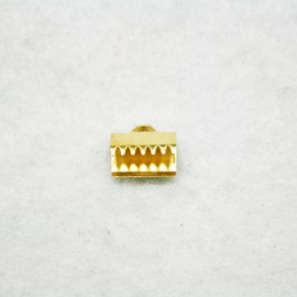 Terminal de 10x7mm dorado