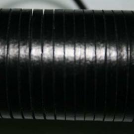 Cuero sintético plano 3mm negro