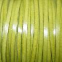 Cuero sintético plano 3mm verde oliva