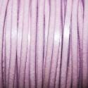 Cuero sintético plano 3mm rosa