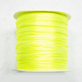 Cola de ratón amarillo fluo 1mm