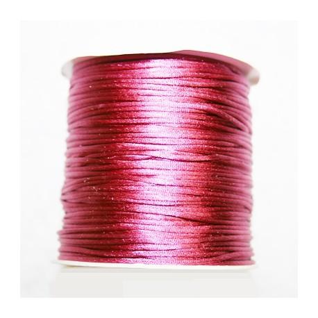 Cola de ratón rosa oscuro 1mm x 5 metros