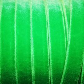 Terciopelo ELASTICO verde