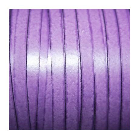 Cuero sintético plano 5mm violeta