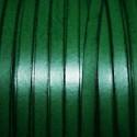 Cuero sintético plano 5mm verde inglés