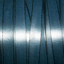 Cuero sintético plano 10mm azul marino