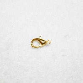 Mosquetón dorado 10mm