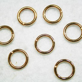 Anilla oro rosa 12mm