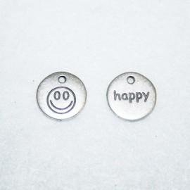 Chapita doble cara HAPPY