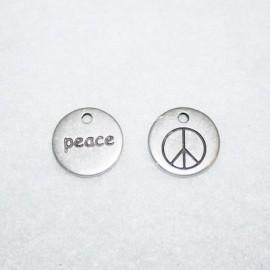 Chapita doble cara PEACE