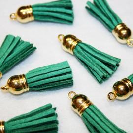Pompon antelina verde