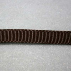 Cinta gros grain marron chocolate 10mm