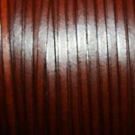 Cuero sintético plano 3mm marron coñac