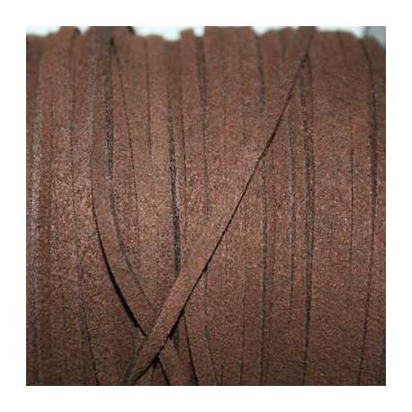 Antelina marrón chocolate