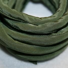 Seda tubular verde musgo x cm