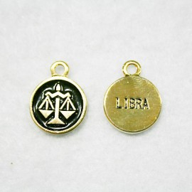 Zodiaco: Libra dorado