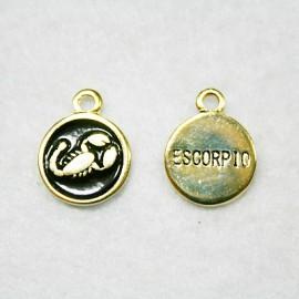 Zodiaco: Escorpio dorado