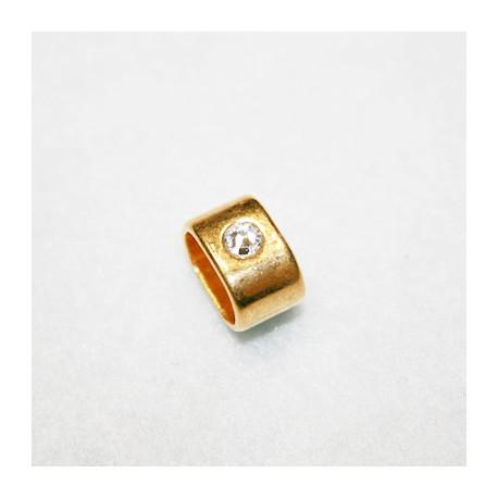 Un cristal dorado