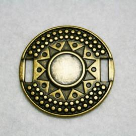 Medalla Inca bronce