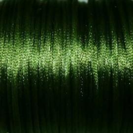 Cola de ratón verde oliva 2mm