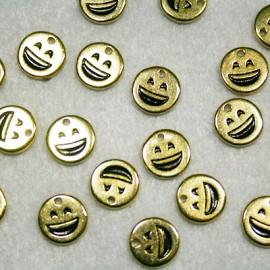 Emoticono Nº4 dorado