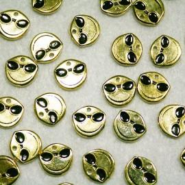 Emoticono Nº2 dorado