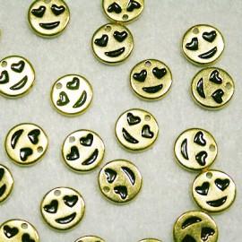 Emoticono Nº5 dorado