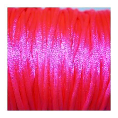 Cola de ratón rosa fluor 2mm