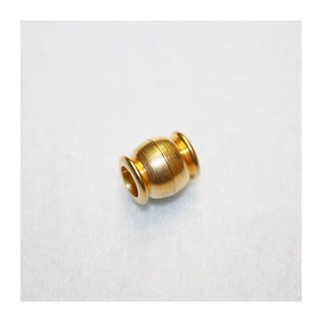 Cierre de iman para 5mm dorado