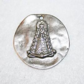 Medallón virgen del Rocio
