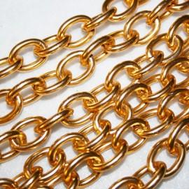 Eslabon clásico dorada
